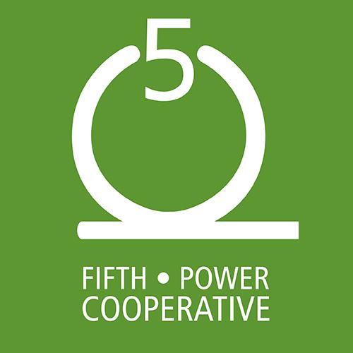 5th Power Coop Logo Design