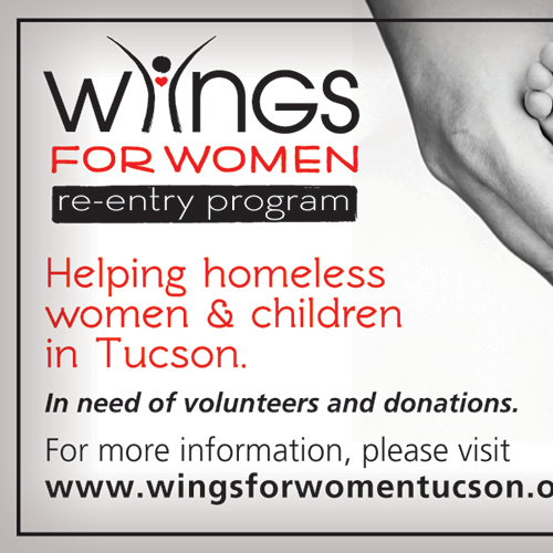 Wings for Women Ad Design for Foothills News Monthly