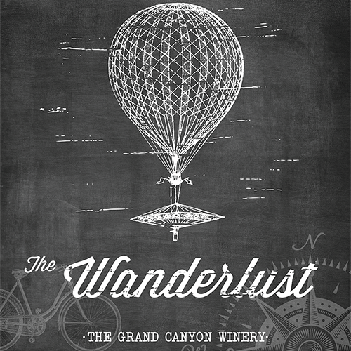 Grand Canyon Winery Wanderlust Poster