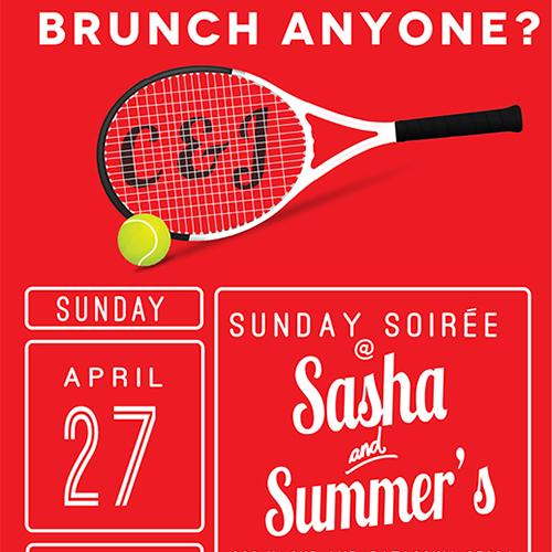 Janie Brunch Invite