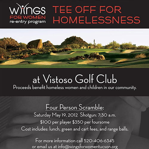 WFW Golf Tournament Flyer